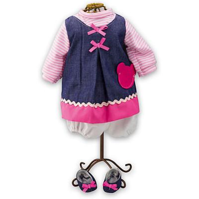 Одежда для кукол Loko Одежда для куклы девочки Baby Pink одежда