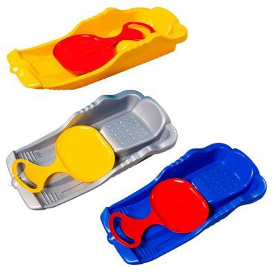 Санки Пластик Для всей семьи до 50 кг разноцветный пластик С 308 санки санки снегокаты rt торнадо 1 до 50 кг пластик белый серый