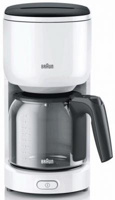 Кофеварка Braun KF 3100 белый цена и фото