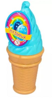 Мыльные пузыри Bubbleland Мороженое ароматизированные 120 мл aвtoys мыльные пузыри мороженое цвет голубой желтый