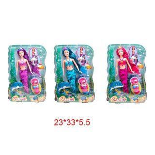 Кукла Kaibibi Русалка 29 см, в ассорт., аксес. 2 шт., блистер кукла мария 29 см в ассорт