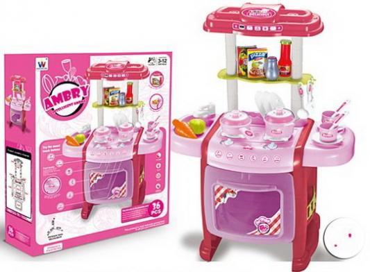 Купить Игровой набор Наша Игрушка Кухня 36 предметов, для девочки, Домики и аксессуары