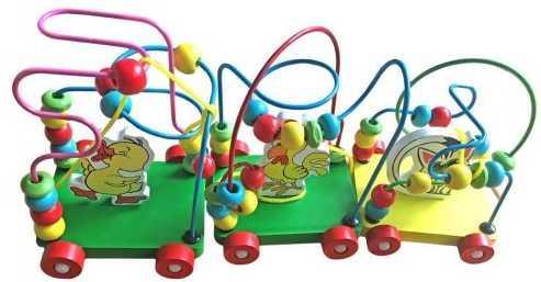 Интерактивная игрушка Наша Игрушка Лабиринт-каталка от 3 лет цвет в ассортименте SPY10971
