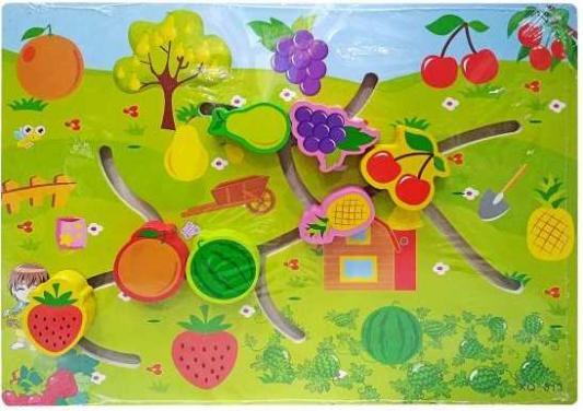 Интерактивная игрушка Наша Игрушка Лабиринт-логика Огород от 3 лет SPYH170719-24 интерактивная игрушка наша игрушка рыбалка эл утенок от 3 лет жёлтый 9981 17a