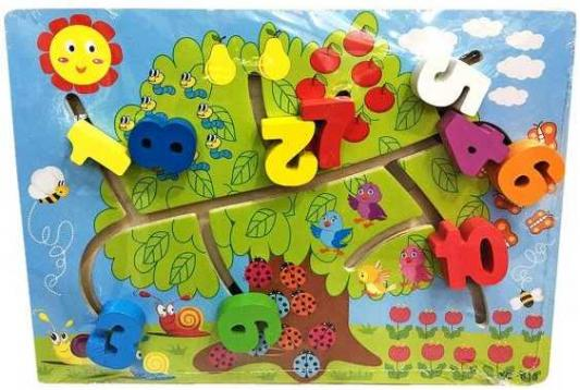 Интерактивная игрушка Наша Игрушка Лабиринт-логика Счет до 10 от 3 лет SPYH170719-26 электрогитара ibanez rgd2127z prestige 7 string