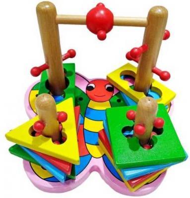 Интерактивная игрушка Наша Игрушка Лабиринт-головоломка Бабочка от 3 лет SPYH170719-31 игрушка