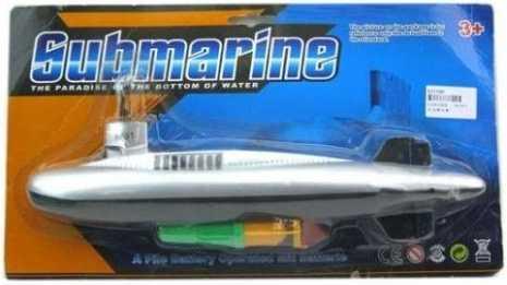 лодка подводная Наша Игрушка Лодка подводная серый — 32 см 100565298 подводная лодка подводная лодка f401 пакет в два треугольной туалетную клапана биде угла клапан пистолет фурма пакет
