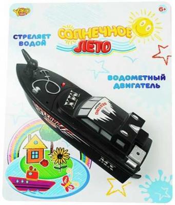 Картинка для Катер Наша Игрушка Солнечное лето черный M6501