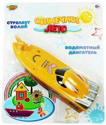 Катер Наша Игрушка Солнечное лето желтый M6503 игрушка shantou gepai наша игрушка катер солнечное лето m6514