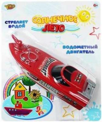 Катер Наша Игрушка Солнечное лето красный M6505 игрушка shantou gepai наша игрушка катер солнечное лето m6514