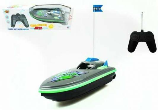 Катер Наша Игрушка Солнечное лето зеленый M6525 игрушка