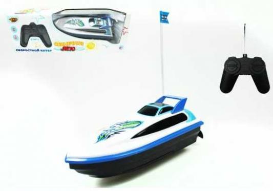 Катер Наша Игрушка Солнечное лето синий M6527 игрушка shantou gepai наша игрушка катер солнечное лето m6514