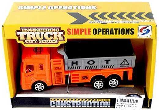 Грузовик Наша Игрушка Грузовик оранжевый 11579-1 грузовик наша игрушка грузовик оранжевый 11579 1