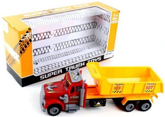 Грузовик Наша Игрушка Грузовик желтый 328-31 грузовик наша игрушка грузовик оранжевый 11579 1