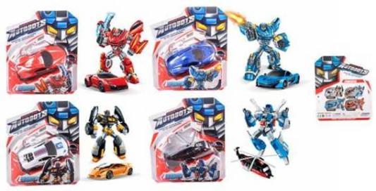 Робот-трансформер Наша Игрушка Робот-машина SD-126 робот игрушка с заводом игрушки машина робот железо металл аниме 1 куски детские подарок