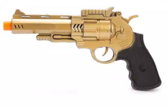 Купить Пистолет Наша Игрушка Пистолет, разноцветный, 18 X 31 X 4 см, для мальчика, Игрушечное оружие
