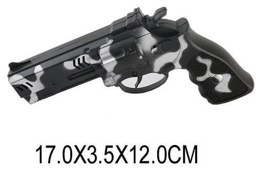 Купить Пистолет Наша Игрушка Пистолет, разноцветный, 170x120x35 мм, для мальчика, Игрушечное оружие