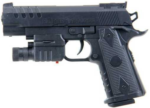 Пистолет Наша Игрушка Пистолет черный ES444-M1911ABX