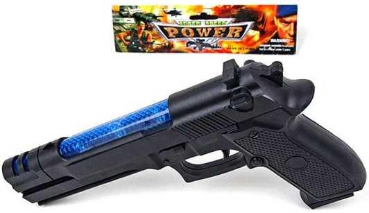 Пистолет Наша Игрушка Пистолет черный 17-001 цена