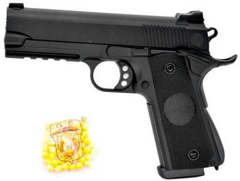Пистолет Наша Игрушка Пистолет черный 2040 цена