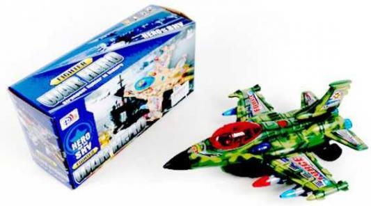 Самолет Наша Игрушка War Hero - Военный самолет хаки 5988B-4 игрушка element13 самолет планер led red 00014