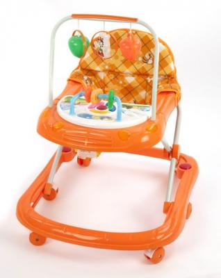Ходунки Наша Игрушка 205A оранжевый от 6 месяцев пластик 205A akara ql 205a
