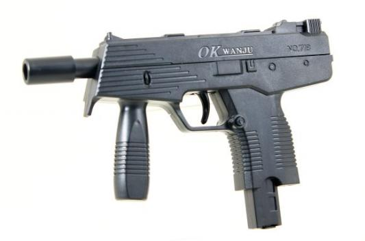 Автомат Наша Игрушка Автомат черный ES447-718PB игрушка лесная мастерская военный автомат 255779