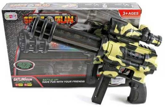 Автомат Наша Игрушка Автомат черный S680-2