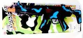 Купить Автомат Наша Игрушка Автомат черный 628-18, 14X5X38 см, для мальчика, Игрушечное оружие