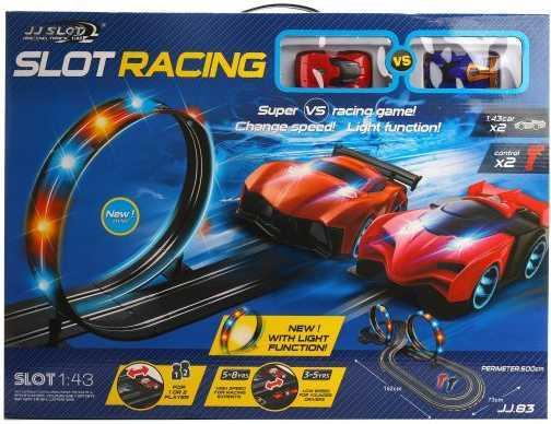 Игровой набор Наша Игрушка Автотрек разноцветный JJ.83-2 игрушка