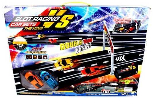 купить Игровой набор Наша Игрушка Автотрек разноцветный 42509-2B по цене 1790 рублей