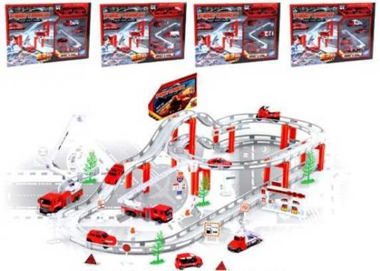 Игровой набор Наша Игрушка Пожарная служба разноцветный CM557-11 игрушка mehano 1 f101 набор рельс