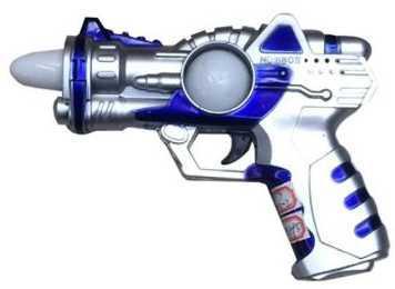 Бластер Наша Игрушка Бластер синий белый 635696 бластер boomco smart shot