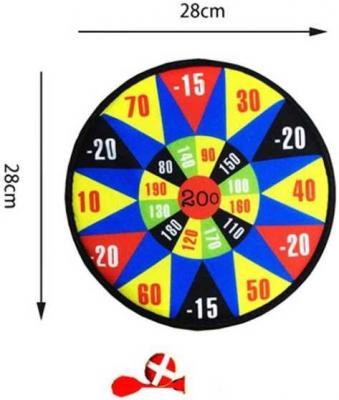 Купить Спортивная игра дартс Наша Игрушка Дартс детский 28 см 200168032, 29X3X35 см, Прочие спортивные игры