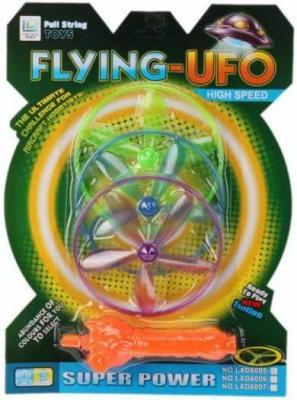 Игрушка с запуском Полет НЛО, 3 диска, блистер