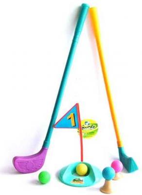 Набор для игры в гольф, клюшка 56 см, 10 предм., сетка