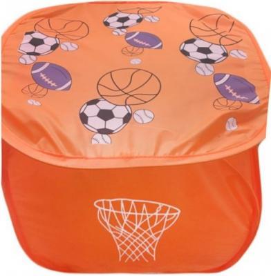 Корзина Баскетбол 45*45 см, пакет настольный баскетбол 36х5 5х25 см т10823