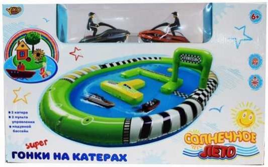 Набор Наша Игрушка Забавные гонки зеленый M6677 игрушка