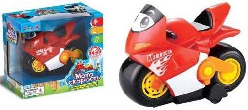 Мотоцикл Наша Игрушка Мотоцикл красный ZYE-E0166-1