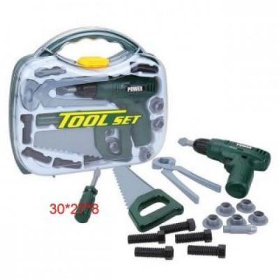 Купить Набор инструментов Наша Игрушка 15 предметов, для мальчика, Игровые наборы для мальчиков