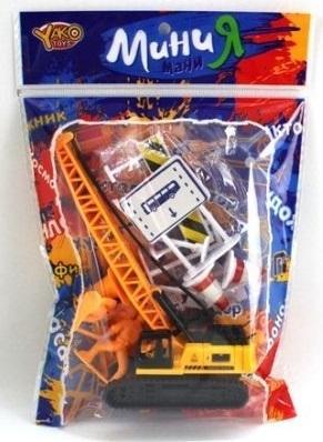 Игровой набор Наша Игрушка Стройплощадка игровой набор наша игрушка иллюзион