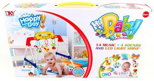 Фото - Стойка игровая Счастливый день, свет, звук, батар.в компл. вх., кор. курочка несушка э ф свет звук бат aa 3шт в компл не вх кор