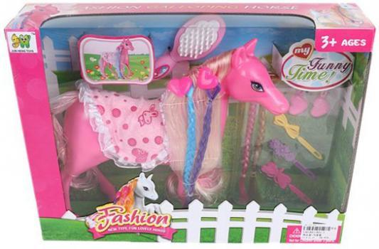 Игровой набор Наша Игрушка Модная лошадка 801-1 игрушка наша игрушка лошадка 100694662