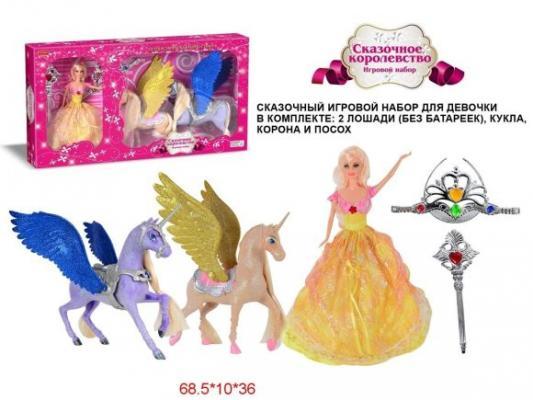 Два единорога Сказочное королевство с куклой и аксесс,2 предм, кор. эрже приключения тинтина секрет единорога