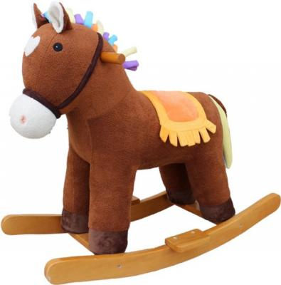 Игрушка Наша Игрушка Мультик: Лошадка-качалка 65 см 611034 игрушка