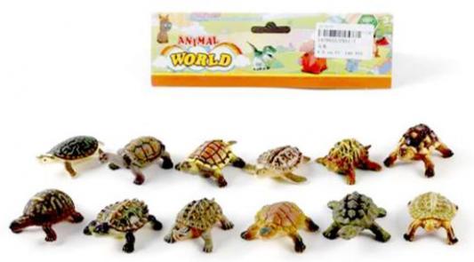Набор фигурок Наша Игрушка Морские черепашки 10 см PX01-7 набор фигурок наша игрушка морские черепашки 10 см px01 7