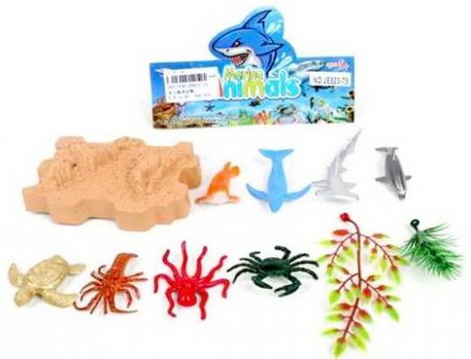 Набор фигурок Наша Игрушка Морской мир набор фигурок наша игрушка морские черепашки 10 см px01 7