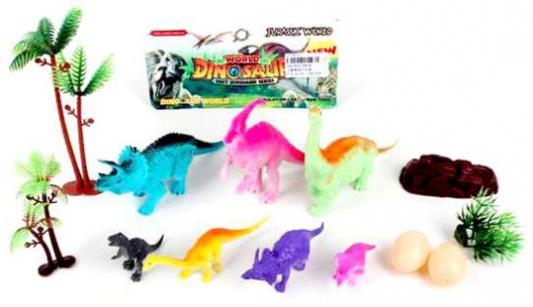 Игровой набор Наша Игрушка Динозаврики 6918 игровой набор наша игрушка пираты 15998d