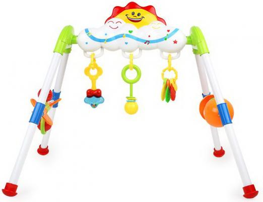 Интерактивная игрушка Наша Игрушка Игровая стойка Цирк — в ассортименте интерактивная игрушка наша игрушка телефончик е нотка от 18 месяцев цвет в ассортименте 60081
