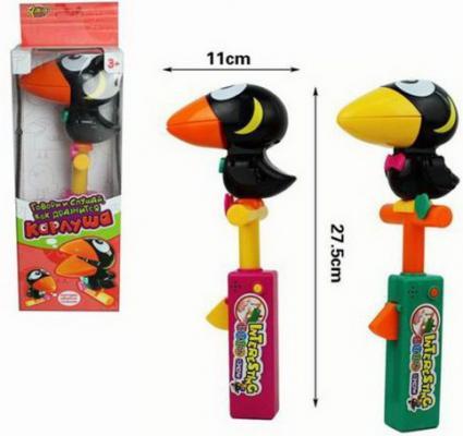 Купить Интерактивная игрушка Наша Игрушка Карлуша от 3 лет, разноцветный, пластик, унисекс, Игрушки со звуком